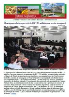 Boletim 228 traz superávit de Toledo e abertura do ano final da legislatura
