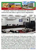 Boletim traz CPI com novas oitivas e moções a PMs, Ação Social e 7ª Corrida 24h