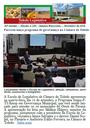 Boletim traz parceria em governança, GA e 13 anos do 19° BPM