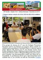 Boletim traz votação da LOA, Bon Odori, Televisando e Gold Lions