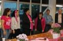 Café Rosa reúne pacientes e alerta para câncer de mama