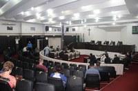 Câmara reabre ao público o Plenário Edílio Ferreira com 50% de limite