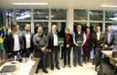 Comitiva de Pato Branco visita Câmara de Toledo