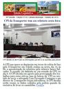 CPI tem relatório sexta, Coral da Paz faz 40, reunião debate condutores e moções