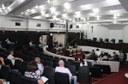 Ex-vereadores Schroeder e Marcondes acompanham sessão