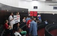 Grupo manifesta-se na Câmara sobre área da Apac