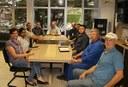Luteranos do Panorama visitam a Câmara Municipal