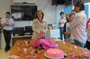 Moção destaca luta de professora e atuação no Outubro Rosa