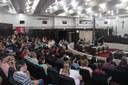 Novas turmas do Premen acompanham sessão da Câmara