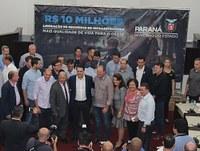 Presidente da Câmara avalia evento com Ratinho Júnior e recursos para Toledo