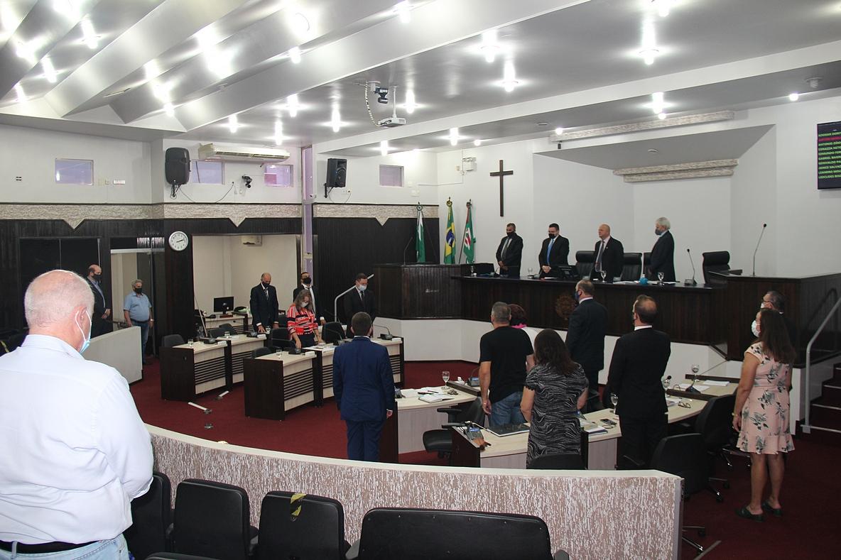 Sessão final homenageia vereador morto pela Covid-19 e toledanos