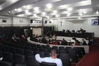 Câmara aprecia em sessão extraordinária dois projetos dia 17